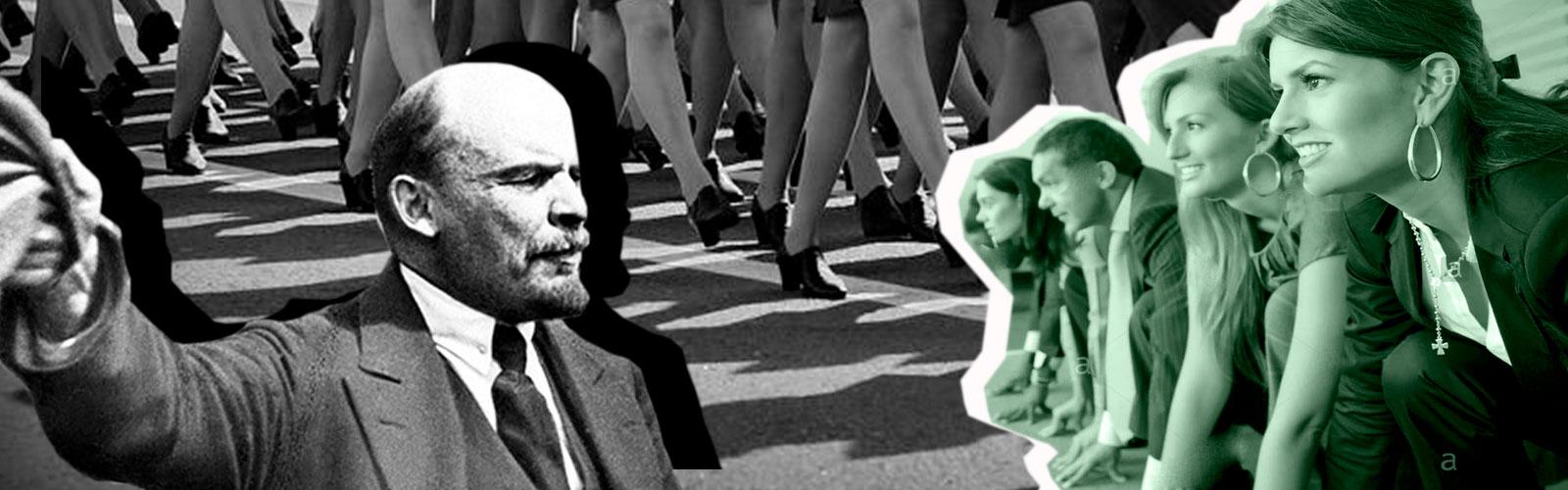 У Ленина был идеалистический стиль лидерства